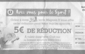 COUPONS REDUCTION LICENCES HYPER U MAYENNE