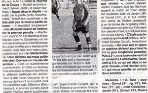 Ouest France 20/10/2008 - Coupe de France