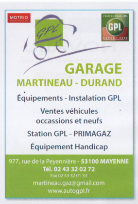 GARAGE MARTINEAU DURAND